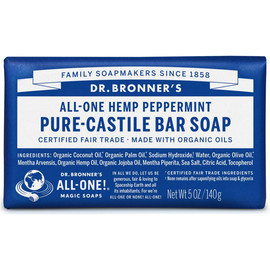All One Hemp Pure Castile Bar Soap