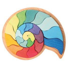 Ammonite Snail Puzzle