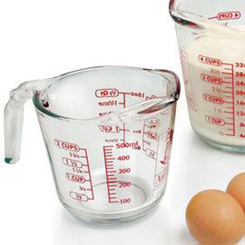 Glass Measuring Cup - 16 oz