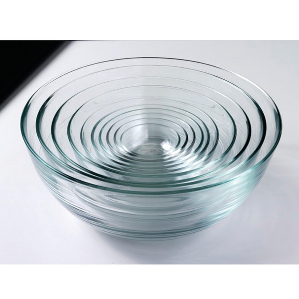 Lys Nesting Glass Bowl Set - 10 piece