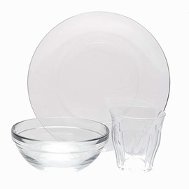 Glass Kids' Dishware Set