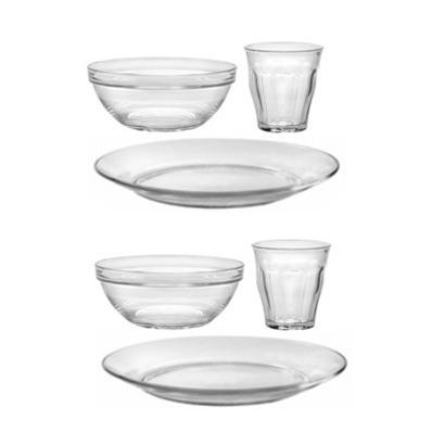 Glass Kids' Dishware Set