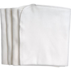 Organic Cotton Burp Cloths, set of 4