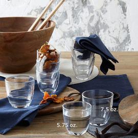Gigogne Glass Tumblers, Set of 6