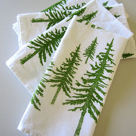 Cotton Dinner Napkins, Green Mountain