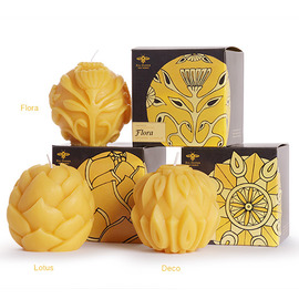 Beeswax Sphere Candles
