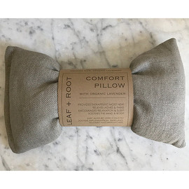 Linen Comfort Pillow with Organic Lavender