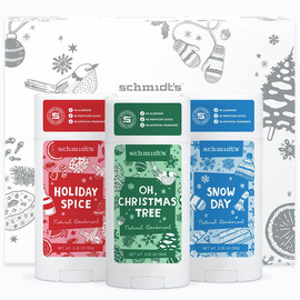 Schmidt's Signature Stick Deodorant - Holiday Collection