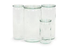 weck cylinder jars