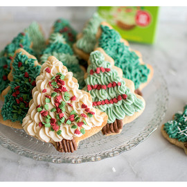 All Natural Holiday Tree Sprinkle Set