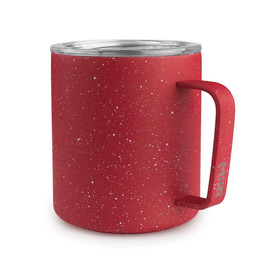 Red Speckled Insulated Camp Cup