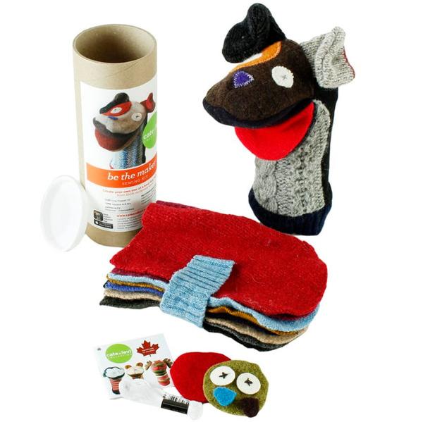 Dog Puppet Making Kit