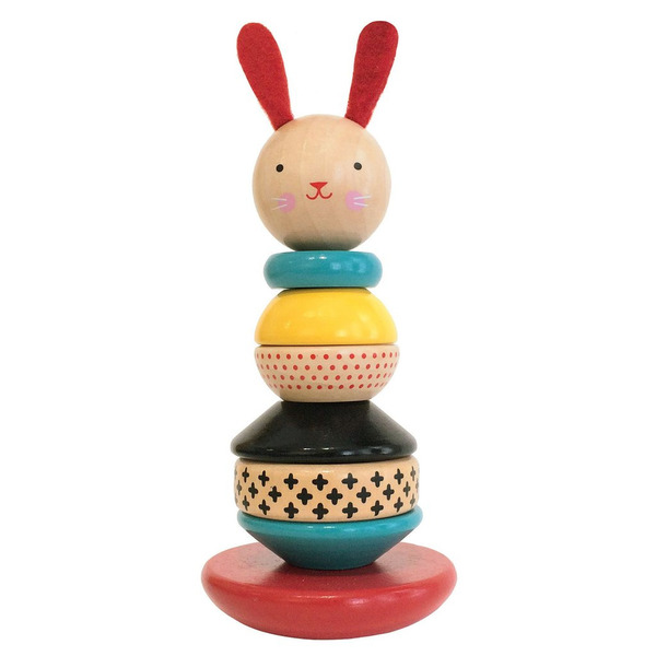 Modern Bunny Stacking Toy