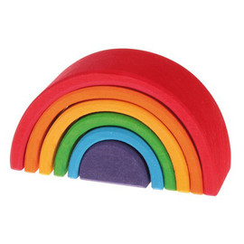 Mini Rainbow Stacking Blocks