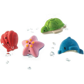 Sea Life Bath Set