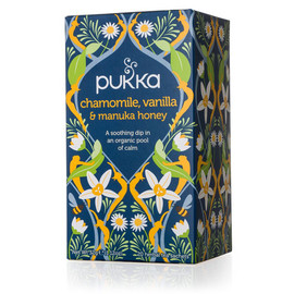 Organic Chamomile, Vanilla & Manuka Honey Tea