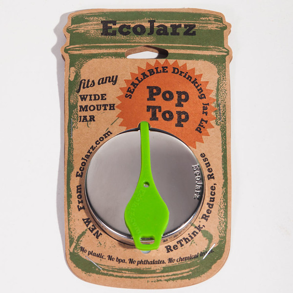 Pop Top: Sealable Drinking Lid