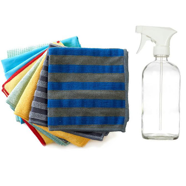 House Cleaning with Water Kit