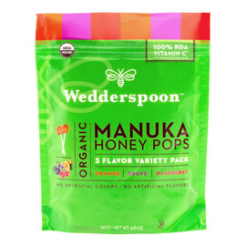 Manuka Honey Pops, Variety Pack
