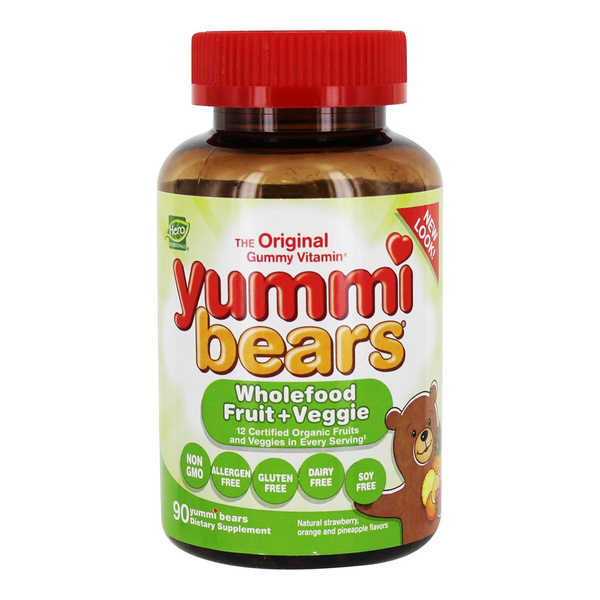 Yummi Bears WholeFood Fruit + Veggie Supplement