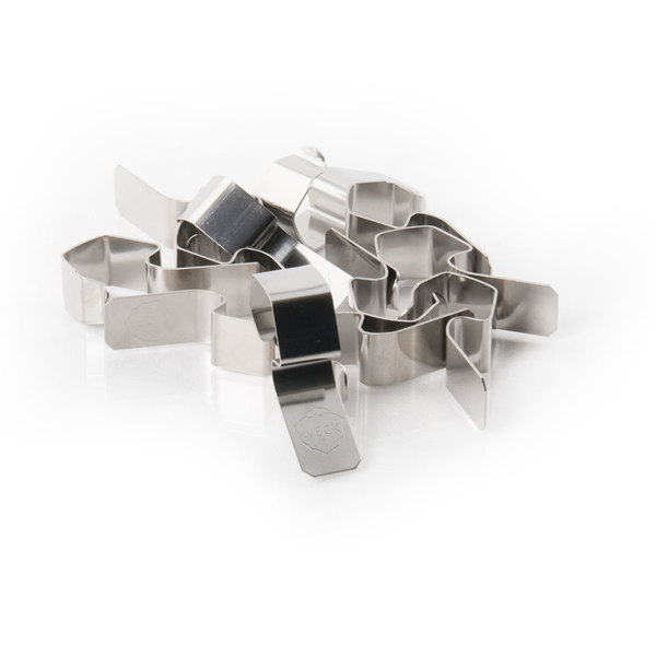 stainless steel weck clamps