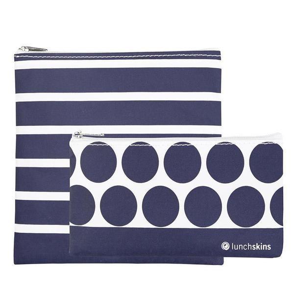 LunchSkins Reusable Zip 2-Pack Bag Set