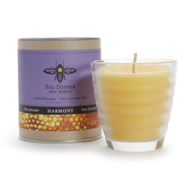 Beehive Glass Aromatherapy Beeswax Candle