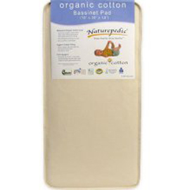 Bassinet Organic Cotton Square Mattress