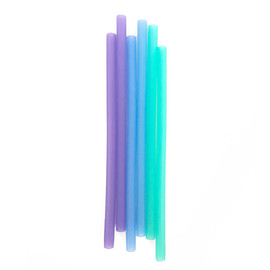 Reusable Silicone Straws, Standard Size