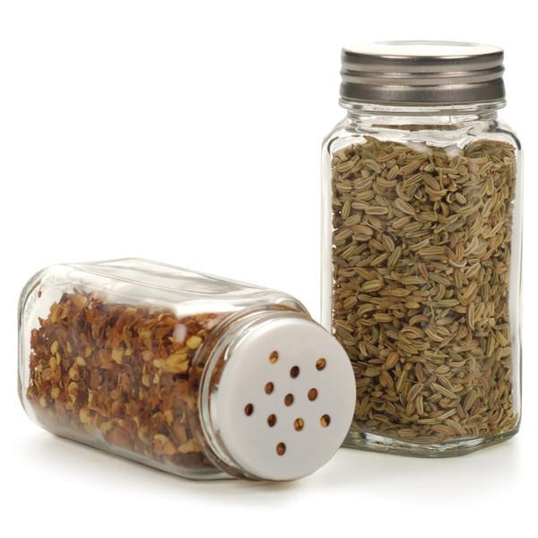 Square Spice Jar