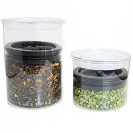 AirScape Glass Storage Canister
