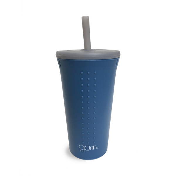 Silicone Straw Cup, 16oz.