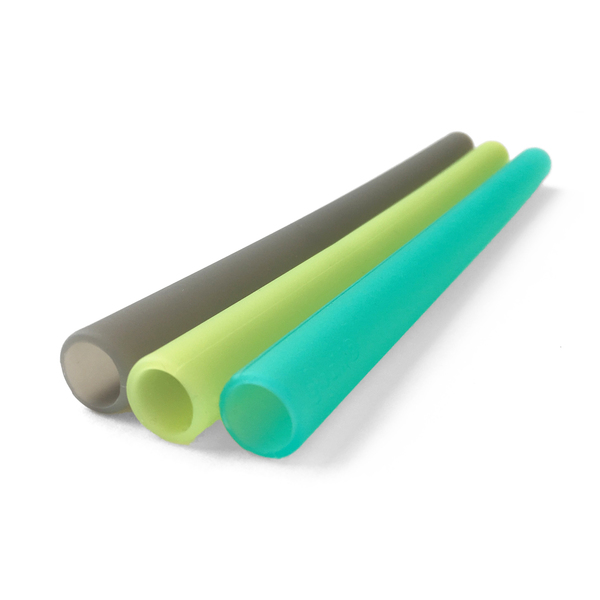 Reusable Silicone Straws, Extra Wide