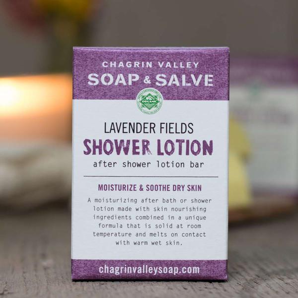 Shower Lotion Bar