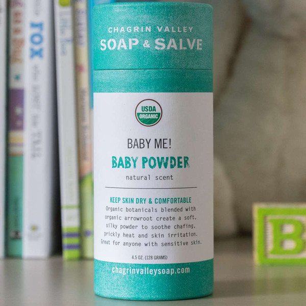 Baby Me! Unscented Baby Powder