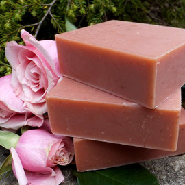 Shea Rose Clay Complexion Bar Soap