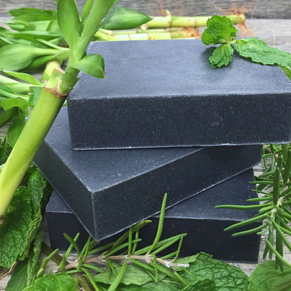 Rosemary Mint Charcoal Shampoo Bar