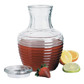 Chiller Pitcher with Glass Lid, 64 oz