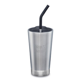 16oz Insulated Tumbler with Straw Top