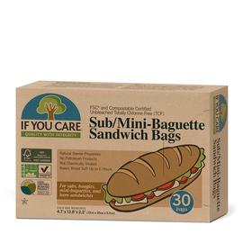 Unbleached Paper Sandwich Bags