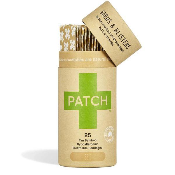 Natural Bamboo Strip Bandages with Aloe Vera