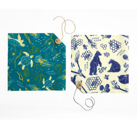 Bee's Wrap Sandwich Set, Bears + Oceans