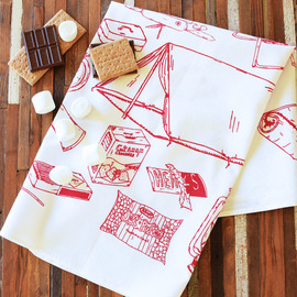 Natural Cotton Tea Towel, Camping Equipment