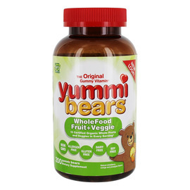 Yummi Bears WholeFood Fruit + Veggie Supplement 200 Count