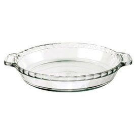 Oven Basics Deep Glass Pie Dish, 9.5""
