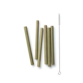 Reusable Bamboo Straws - Short