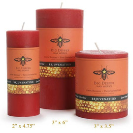Beeswax Aromatherapy Pillars - Clove Bud & Sweet Orange