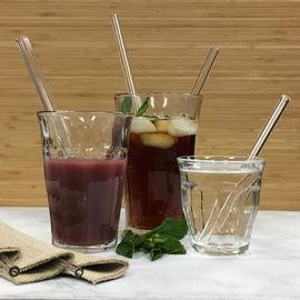 Simple Elegance Glass Straw