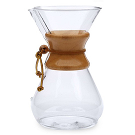 Chemex Glass Coffeemaker, 6 Cup