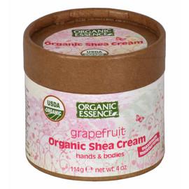 Organic Shea Cream, Grapefruit